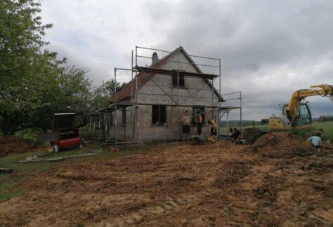 Bauprojekt Pfadfinderbund